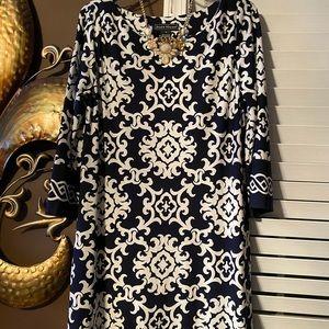 Jessica Howard dress navy white